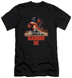 Rambo III - French Poster (slim fit) T-Shirt