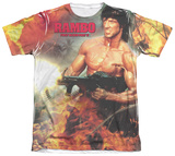 Rambo First Blood II - Become War T-shirts