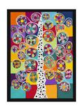 Pinwheel Tree Giclee Print by Kerri Ambrosino