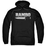 Hoodie: Rambo First Blood - Knife Pullover Hoodie