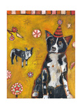 Border Collie Giclee Print by Jill Mayberg