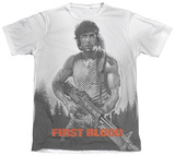 Rambo First Blood - Poster T-Shirt
