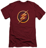 The Flash - Chest Logo (slim fit) T-shirts