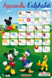 Alphabet Mickey Mouse Affiches