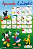 Alphabet Mickey Mouse Kunstdrucke