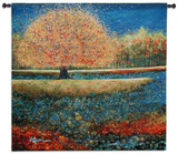 Jewel River Wall Tapestry by Melissa Graves-Brown