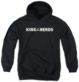 Youth Hoodie: King Of The Nerds - Horizontal Logo Pullover Hoodie