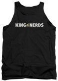 Tank Top: King Of The Nerds - Horizontal Logo Tank Top