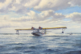 Catalina Take-Off Giclee Print by Roy Cross