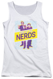 Juniors Tank Top: King Of The Nerds - Laser Guns Shirts