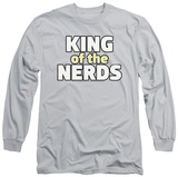 Long Sleeve: King Of The Nerds - Stacked Logo T-shirts