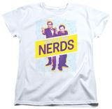 Womens: King Of The Nerds - Laser Guns T-shirts
