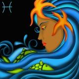 Segni Zodiacali - Pesci Art by  goccedicolore