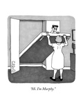 """Hi. I'm Murphy."" - New Yorker Cartoon Premium Giclee Print by J.C. Duffy"