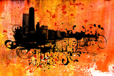 Chicago Print by JENNY SOLOMON