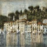 Mediterranean Hillside Giclee Print by Robert Canady