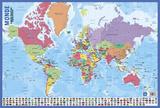 Carte Du Monde Billeder