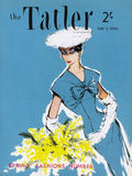 The Tatler, May 1956 Giclée-tryk af  The Vintage Collection