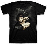 Ozzy Osbourne - Gargoyle Bat T-Shirts