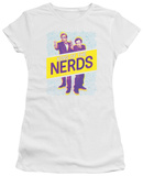 Juniors: King Of The Nerds - Laser Guns Shirt
