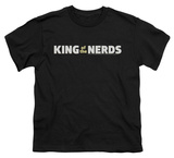 Youth: King Of The Nerds - Horizontal Logo T-shirts