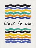 C'est la Vie Prints by Sasha Blake