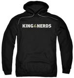 Hoodie: King Of The Nerds - Horizontal Logo Pullover Hoodie