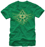 Zelda - Soaring Triforce Tシャツ