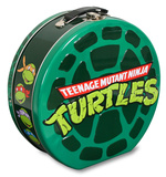 Teenage Mutant Ninja Turtles Embossed Shaped Tin Lunch Box Lunch Box