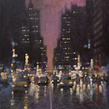 Midnight City Posters by David Hinchliffe