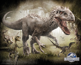 Jurassic World Raptors Plakaty