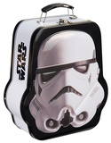 Star Wars Stormtrooper Shaped Embossed Tin Lunchbox Lunch Box