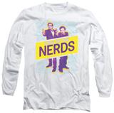 Long Sleeve: King Of The Nerds - Laser Guns T-Shirt