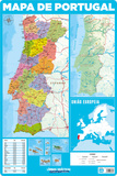 Mapa De Portugal Poster
