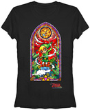 Juniors: Zelda Wind Waker Window T-Shirt