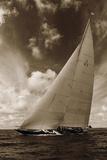 J-Class K3 Yacht Giclee Print by Ben Wood