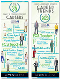 Family & Consumer Sciences Careers Poster Set Stampe