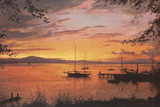 Burnished Gold Giclee Print by Victor Elford