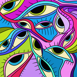 Abstract Eyes Posters by  goccedicolore