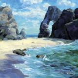 Ocean Inlet Giclee Print by Julian Askins