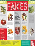 Fruit And Veggie Fakes Poster Prints
