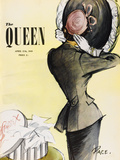 The Queen, April 1949 Giclee Print by  The Vintage Collection