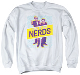 Crewneck Sweatshirt: King Of The Nerds - Laser Guns T-shirts