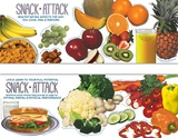 Snack Attack Poster Set Plakat