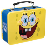 SpongeBob SquarePants Large Tin Lunchbox Lunch Box