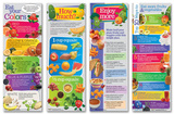 Enjoy More Fruits And Veggies Poster Set Stampa