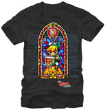 Zelda - Stained Glass T-shirts