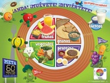 Active Kids Myplate Spanish Poster Posters