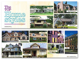 The Top Home Styles Poster Set Plakaty