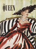The Queen, May 1952 Gicléedruk van  The Vintage Collection